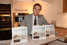 Vicente Wolf holds booksigning event at Poggenpohl's Midtown NY ...