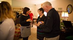 Guests mingling at the launch of Vintage Glamour - Main Event April 11th 2015