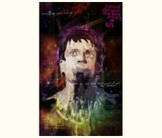 IAN CURTIS  IGNITION DANCE SUPERNOVA illustration