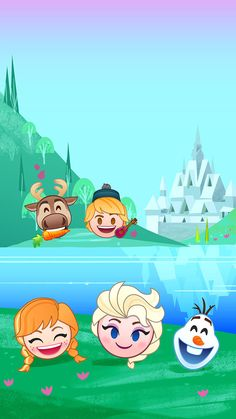 Frozen Emoji iPhone Wallpapers in Celebration of World Emoji Day! Disney Olaf, Disney Frozen, Disney Art, Disney Movies, Disney Pixar, Film Frozen, Disney Stuff, Frozen Wallpaper, Cute Disney Wallpaper