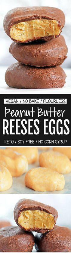 No Bake Reeses Peanut Butter Eggs, SO Addictive!