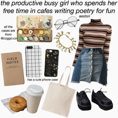 The Best Fashion Moments To Relive in Photos Art Hoe Aesthetic, Aesthetic Memes, Aesthetic Fashion, Aesthetic Clothes, Komplette Outfits, Cool Outfits, Fashion Outfits, Womens Fashion, Hipster School Outfits
