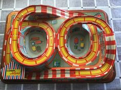 Beautiful Technofix Coney Island circuit by the German brand Technofix. The colours are beautiful and the lithograph in good condition. Vintage Games, Vintage Toys, Old Fashioned Toys, German Toys, Coney Island, Tin Toys, Retro Toys, Antique Toys, Game Design