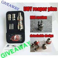 The IJOY Reaper Plus RBA post wire holes has been updated from 1.0mm to 1.5mm, check it out peeps. We can now even use clapton wire to build amazing coils wink emoticon Like to own one now? Come join our giveaway and stand a chance to win one of 15 Reaper Plus tanks offered. Giveaway link : https://www.facebook.com/IJOY.US/posts/1231852430163855