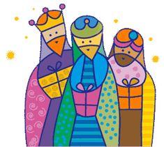 La historia de los Reyes Magos. Significado de sus regalos Christmas Arts And Crafts, Christmas Rock, Christmas Nativity, Christmas Projects, Christian Posters, Bible Illustrations, Vintage Christmas Images, Christmas Drawing, Drawing Projects