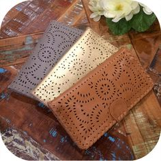 The perfect wallet by Cleobella! Follow us at Facebook.com/PerleSonoma or call us at 707.935.5800 we ship!