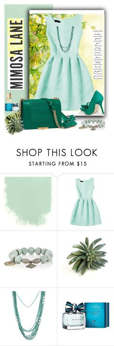 """SHEINSIDE Contest !"" by manuela-cdl ❤ liked on Polyvore featuring Carole Shashona, Tommy Hilfiger and Yves Saint Laurent"