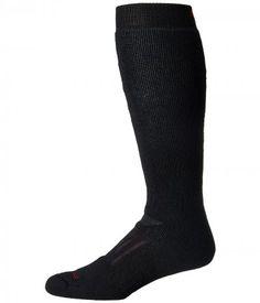 Smartwool - PhD Outdoor Heavy OTC (Black) Men's Knee High Socks Shoes