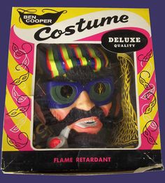 October means more vintage Halloween Costumes are available to buy. Had to have this Beatnik Boy - although he is missing his pants. Shame on you Beatnik Boy! (Dick Brodeur Collection)