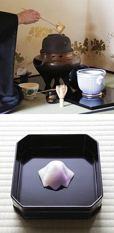 お茶事・お茶会 | 京都 料亭 茶懐石、京料理なら創業安政三年の下鴨茶寮