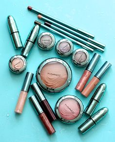 mac alluring aquatic collection | The MAC Alluring Aquatic Collection Extra Dimension Eye Shadows and ...