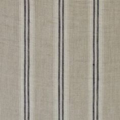 "Stripe Indigo Linen - Kate Forman - for the roman blinds, to coordinate with the curtains in ""Margot"" perhaps (or use as a window seat cushion)."