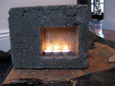 Mini Fireplace Concrete Test - Hypertufa Forum - GardenWeb