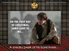 Outlander First Day of Christmas!