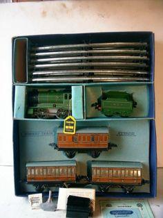 Vintage Hornby O Gauge Clockwork 501 Passenger Train SET Boxed Excellent | eBay