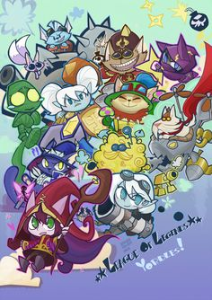 Yordles! by ~inkinesss on deviantART
