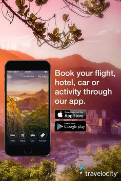 Going places? Make planning your next trip easy with the Travelocity app. Get on-the-go access to search and book our best flights, hotels, rental cars and activities - plus mobile-exclusive deals you'll only find through the app. #WanderWisely