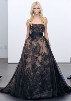 Vera Wang Fall 2012 Wedding Dress Collection. Well, it's a beautiful dress, but I wouldn't wear it as a wedding dress.