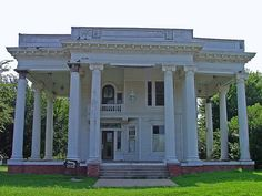Old mansion that at the time was abandoned and in serious need of repair. It was on the 100 endangered historical places in preservation mag...