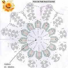 Pega+Panelas+Flor+Dália+Croche+Gráfico.PNG 743×748 пикс