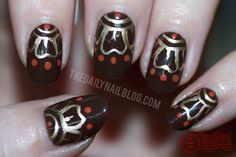 We love these India inspired nails! @dailynail