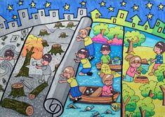 rangoli on environment theme images Earth Drawings, Art Drawings For Kids, Drawing For Kids, Save Environment Posters, Environment Painting, Clean India Posters, Save Water Poster Drawing, Save Earth Drawing, Save Earth Posters