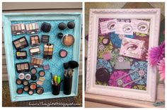Magnetic Makeup Board! Nailed it!