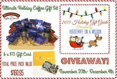 Welcome to the Door County Coffee & Tea Co. Giveaway hosted by Housewife on a Mission and sponsored by Door County Coffee & Tea Co. Everything Mommyhood has teamed up with Housewife on a Mi…