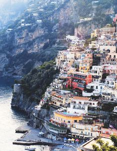 The Amalfi coast.  Magical.