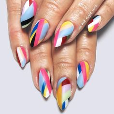 Mesmerizing Matte Color Block #mattenails #colorblocknails ❤️ All summer designs from pink to glitter, from classy to sassy, from matter to shimmer are gathered here, in one place! ❤️ See more: https://naildesignsjournal.com/short-stiletto-nails-designs/ #naildesignsjournal #nails #nailart #naildesigns #shortnails #stilettonails #shortstiletto #shortstilettonails