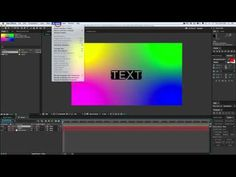 After Effects Stencil Text + Preset - YouTube