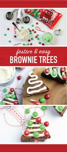 Ready for a tasty crowd-pleaser that's as festive as it is easy to make?! Check out this recipe for M&M'S® Brownie Christmas Trees! Using M&M'S® Milk Chocolate Ugly Sweater Packs, your favorite fudgy brownie recipe, and a couple fun decorations, you can quickly put together a seasonal dessert that is fit for your Christmas party! Find all the ingredients you'll need at your local Kroger, King Soopers or Fred Meyer to bring this creative treat to life with your family!