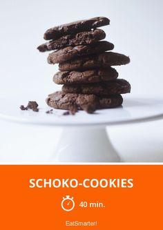 Schoko-Cookies - smarter - Zeit: 40 Min. | eatsmarter.de