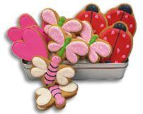 Love Bug Iced Cookies