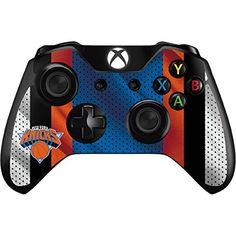 NBA New York Knicks Xbox One Controller Skin  New York Knicks Away Jersey Vinyl Decal Skin For Your Xbox One Controller *** See this great product.Note:It is affiliate link to Amazon.