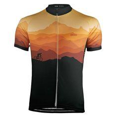 Ride Free Sunset Men's Cycling Jersey exclusive at Online Cycling Gear Bike Wear, Cycling Wear, Cycling Jerseys, Cycling Outfit, Women's Cycling, Cycling Equipment, Bike Run, Bike Rides, Cool Bicycles
