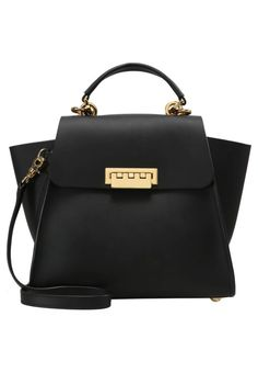 """ZAC Zac Posen. EARTHA ICONIC CONVERTIBLE  - Rucksack - black. length:10.5 """" (Size One Size). width:4.5 """" (Size One Size). carrying handle:3.0 """" (Size One Size). Outer material:leather. height:8.5 """" (Size One Size)"""