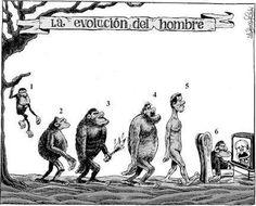 La evolución del hombre [Idígoras y Pachi] (Evolución - Evolution)