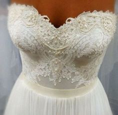 Lace Beaded bodice