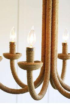 rope chandelier