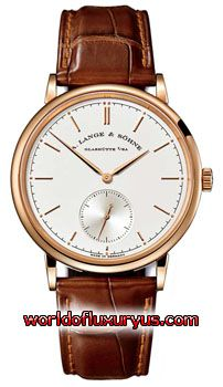 A. Lange and Sohne - Saxonia Manual Wind - 216.032 (Rose Gold / Silver Dial / Leather) - See more at: http://www.worldofluxuryus.com/watches/A-Lange-and-Sohne/Saxonia/216.032/88_93_4391.php#sthash.iajv2zXw.dpuf