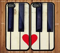 Love Piano Couple case for iphone