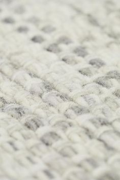 Wool-blend rug - Natural white/Grey - Home All