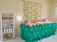 Festa Adulto Havaiana Aloha - Flor de Seda Eventos