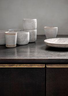 Photo 8 of 11 in A Look at Jonas Bjerre-Poulsen's Luxuriously Minimalist Kitchen - Dwell Architect Logo, Wood Counter, Minimalist Kitchen, Wood Cabinets, Ikea Hack, Inspired Homes, Scandinavian Design, Kitchenware, Kitchen Design