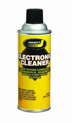 Johnsen's 4600-12PK Electronic Cleaner – 10 oz., (Pack of 12)