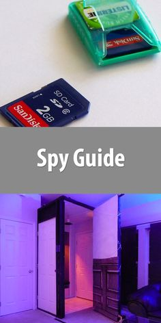 26 DIY projects that will help you become the ultimate spy. Secret spy shoes, tripwire alarm, Listerine SD card holder, and more! Spy Gadgets, Cool Gadgets, Diy Electronics, Electronics Projects, Spy Gear, Home Tech, Spy Camera, Home Automation, Sd Card