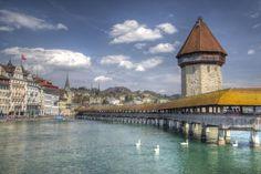 Kappelbrücke by on YouPic Canon Eos, Switzerland, Urban, Lucerne