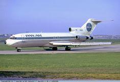 Pan Am, Boeing 727-21 (N318PA) at Berlin [Tempelhof], Germany May-1975