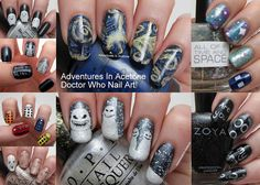 Doctor Who Nail Art!! #Doctorwho50th #DoctorWho #DW